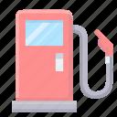 fuel, gas, petrol, station icon