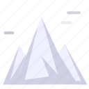 landspace, mountains, scenery icon