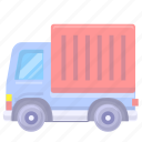 conveyance, delivery, logistics, supply, transport, transportation, truck icon