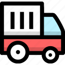 cargo, delivery, goods, shipping, transaction, transport, truck icon