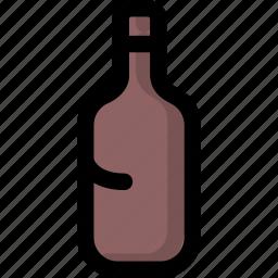 alcohol, beer, beverage, bottle, wine icon