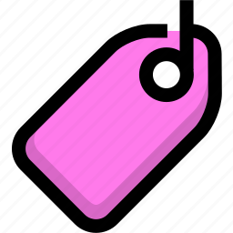 discount, label, offer, price, sale, tag icon