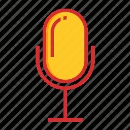 mic, podcast, voice icon