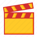 direction, film, movie, video icon