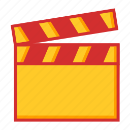 direction, film, movie, video icon