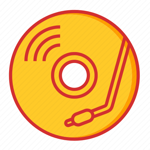 cd, dj, dvd, music, player, songs, sound icon