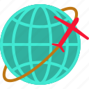 global, globe, international, internet, plane, world
