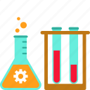 experiment, lab, research, chemistry, flask, science, tube