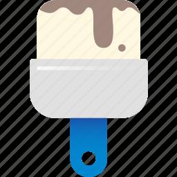 brush, color icon