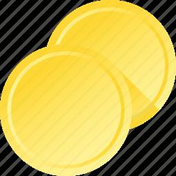 coins, copy, duplicate icon