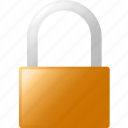 block, lock icon