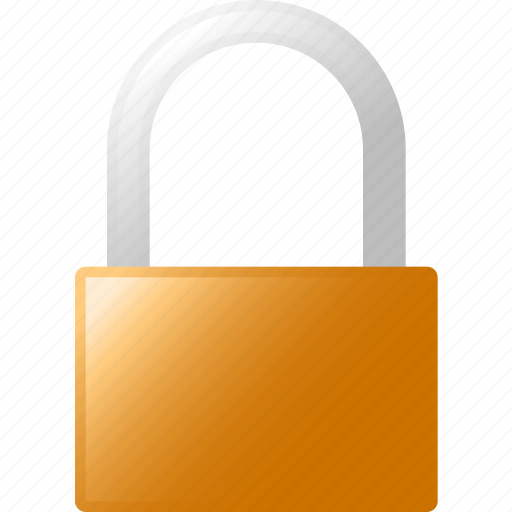 block, lock icon