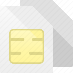 card, dualsim, sim, simcards icon