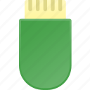 data, portable, storage, usb icon