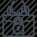 gdpr, personal data, portability, transfer icon