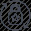 breach, controller, data protection, risk icon