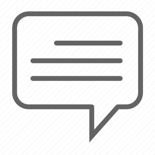 business, chat, conversation, general, information, office icon