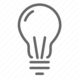 bulb, business, general, idea, information, office icon