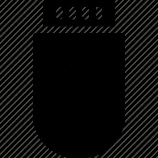data, portable, storage, usb icon