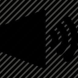 sound, volume icon
