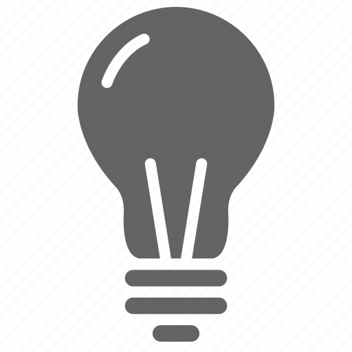 bulb, company, general, office, solid, universal icon