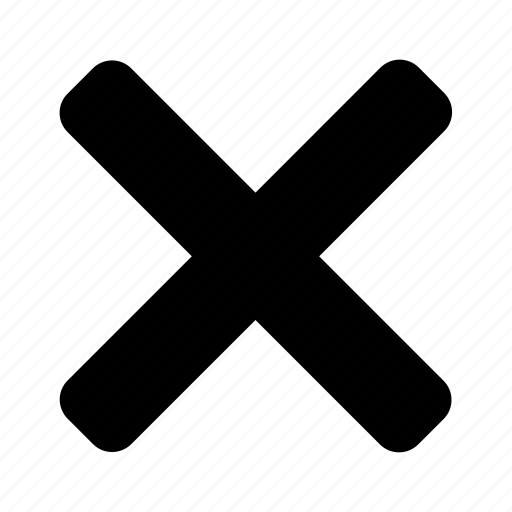 cancel, cross, delete, false, reject, rejected icon