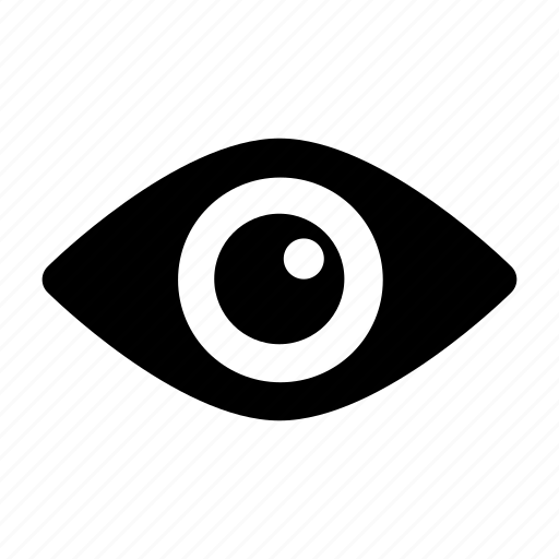 eye, preview, profile, review, visible icon