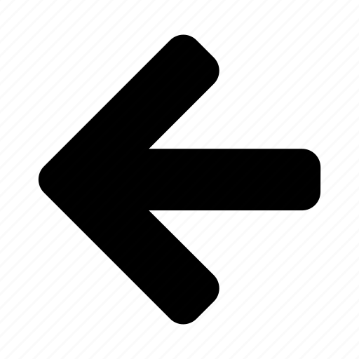 arrow, left, past, previous icon