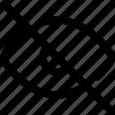 eye, nao lido, off, visualization, visualização icon