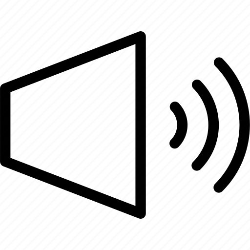 control, sound, speaker, volume icon