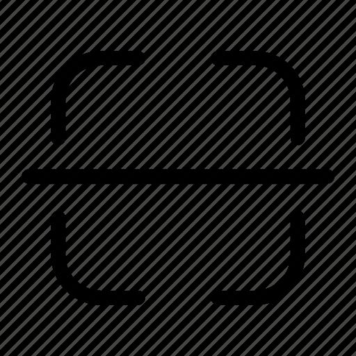 bar code, detect, qr code, scan, scanning icon