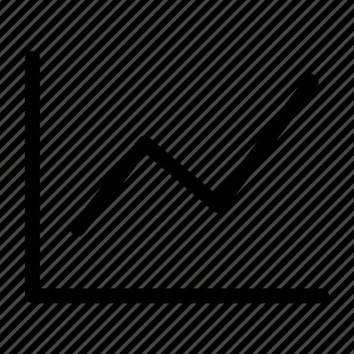 analytics, chart, graph, line, performance, stats icon