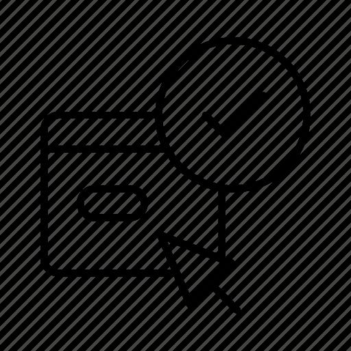 accept, e-commerce, event, invitation, purchase, shopping icon