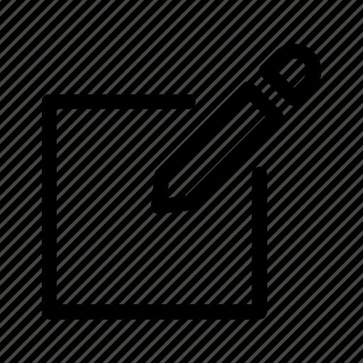draw, edit, editing, pencil, update icon