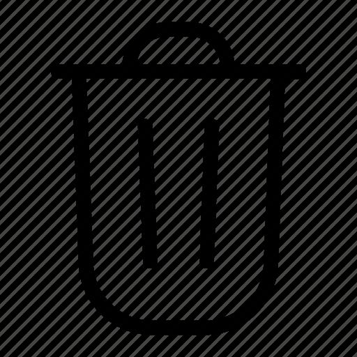 delete, dustbin, junk, remove, trash, waste icon