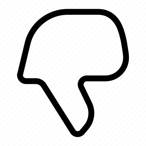 dislike, hand gesture, like, no, not, thumbs down icon
