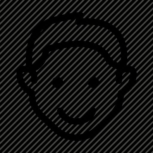 boy, face, guy, man, user icon