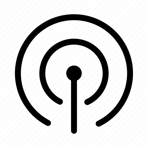 connection, hotspot, network, signal icon