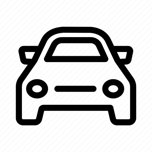 automobile, car, four wheeler, transport, vehicle icon