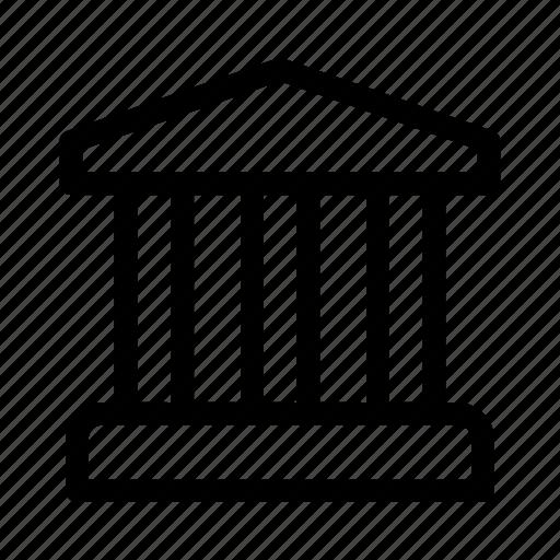 account, bank, building, school, transactions icon