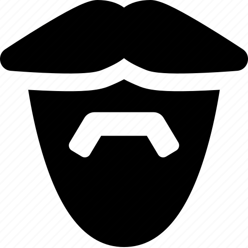 barber, beard, face, facial hair, male, man, moustache icon
