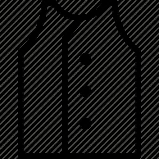 classic, clothes, gentleman, suit, vest icon