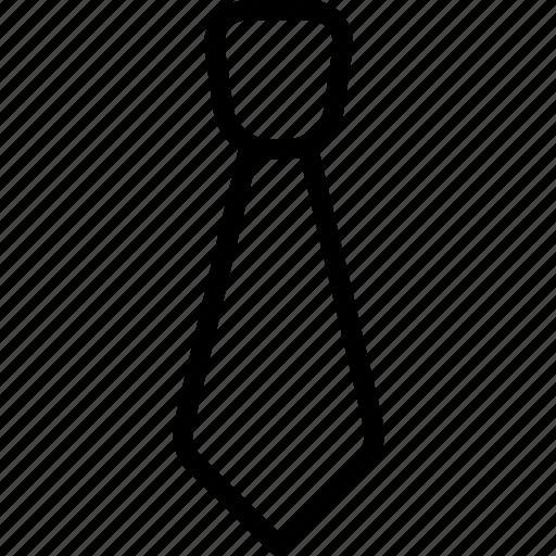 formal tie, necktie, tie, uniform, windsor icon