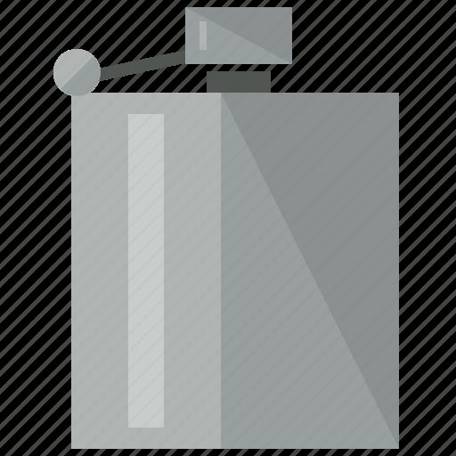 beverage, drink, flask, gentlemen, tool icon
