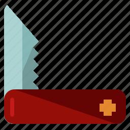 equipment, gentlemen, knife, swiss, tool icon