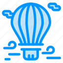 air, airballoon, balloon, hot, travel icon