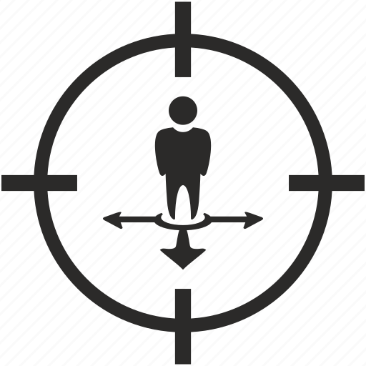arrow, geo, location, motion, way icon