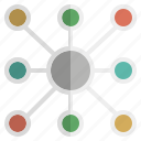 affiliation, bond, border, communicate, connectivity, relation icon