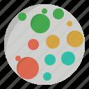 circle, decrease, dense, density, increase, massive, populous icon
