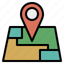 location, map, maplocation, mappoint, pointer, positioning, streetmap icon
